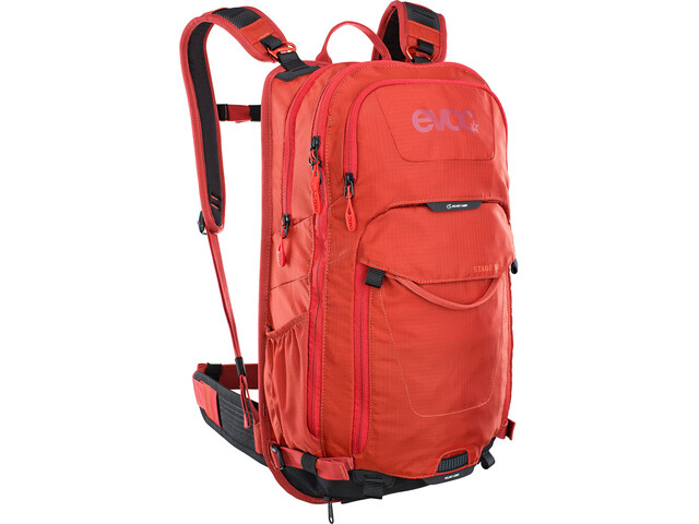EVOC Stage Mochila Technical Performance 18l, chili red